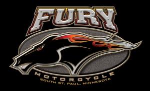 Fury Logo Merged on Black